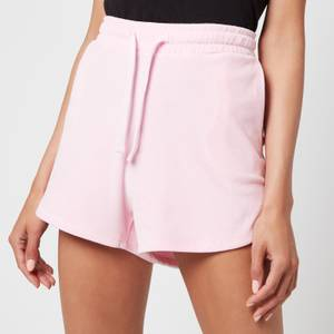 Tommy Jeans Women's TJW Pastel Velour Shorts - Romantic Pink