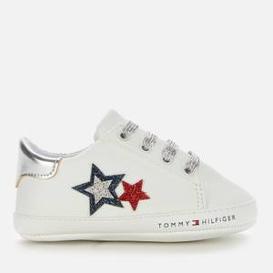 Tommy Hilfiger Girls' Lace-Up Shoe White/Blue/Red White/Blue/Red