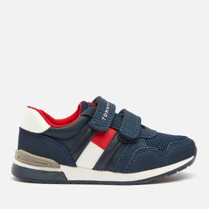 Tommy Hilfiger Toddlers' Low Cut Velcro Sneaker - Blue