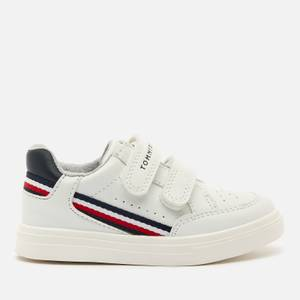 Tommy Hilfiger Toddlers' Low Cut Velcro Sneakers - White