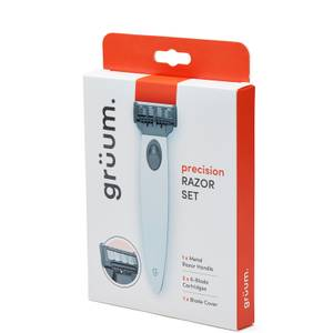 grüum Precision Razor Set - Silver