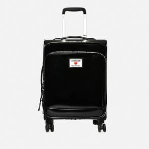 Love Moschino Women's Small Trolley Case - Black