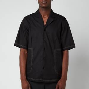 Holzweiler Men's Wilas Short Sleeve Shirt - Black