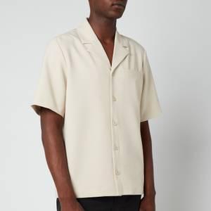 Holzweiler Men's Kia Short Sleeve Shirt - Sand