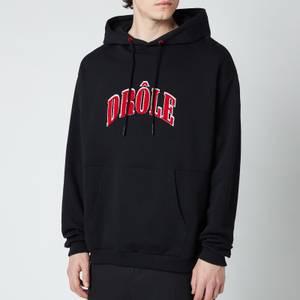 Drôle de Monsieur Men's Drole Embroidered Hoodie - Black