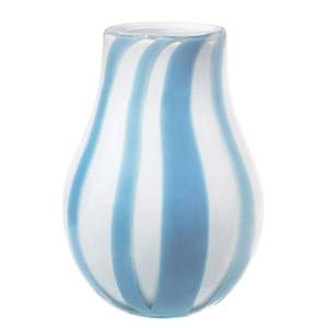 Broste Copenhagen Ada Stripe Vase - Light Blue
