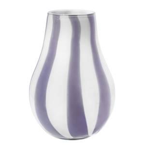 Broste Copenhagen Ada Stripe Vase - Light Purple