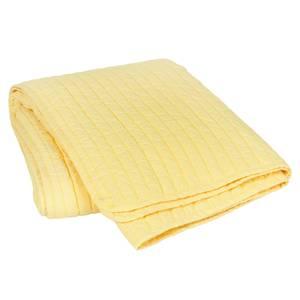 Broste Copenhagen Sena Cotton Throw - Yellow