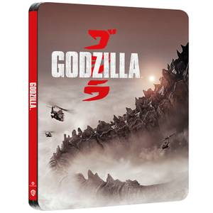 Steelbook Godzilla 4K Ultra HD - Exclusivité Zavvi (Blu-ray 2D Inclut)