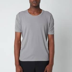 Maison Margiela Men's Crepe Cotton Rib T-Shirt - Storm