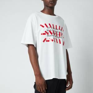 Maison Margiela Men's Vintage Dye Jersey T-Shirt - Off White