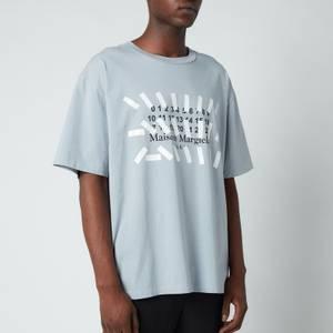 Maison Margiela Men's Vintage Dye Jersey T-Shirt - Storm
