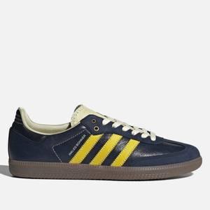 adidas X Wales Bonner Men's Samba Trainers - Collegiate Navy/Mono Yellow