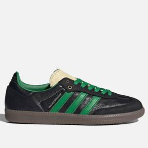 adidas X Wales Bonner Men's Samba Trainers - Core Black/Prime Green