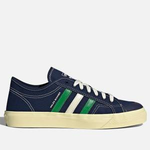adidas X Wales Bonner Men's Nizza Lo Trainers - Night Indigo/Mono Yellow/Cream White