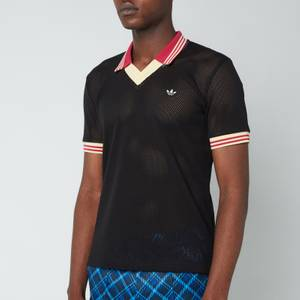 adidas X Wales Bonner Men's Mesh Polo Shirt - Vermillion