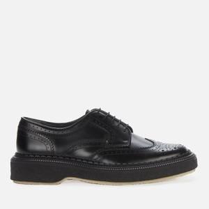 Adieu Men's Type 158 Leather Brogues - Black