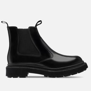 Adieu Men's Type 156 Leather Chelsea Boots - Black