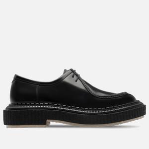 Adieu Men's Type 153 Leather Two Eye Shoes - Black