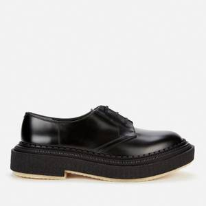 Adieu Men's Type 135 Leather Derby Shoes - Black