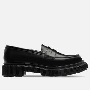 Adieu Men's Type 159 Leather Loafers - Black