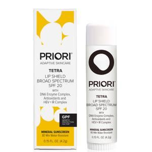 PRIORI Skincare Tetra Lip Shield SPF20 0.15oz