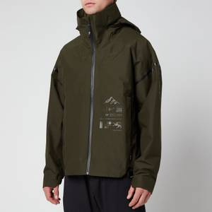 adidas X Parley Mission Men's Myshelter Rain Jacket - Night Cargo