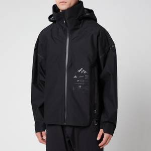 adidas X Parley Mission Men's Myshelter Rain Jacket - Black