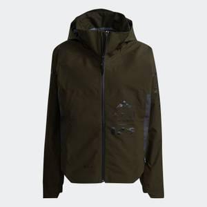 adidas X Parley Mission Women's Myshelter Rain Jacket - Night Cargo