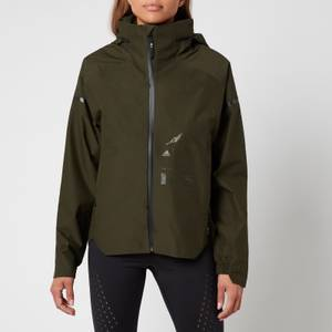 adidas X Parley Mission Women's Myshelter Rain Jacket - Night Cargo