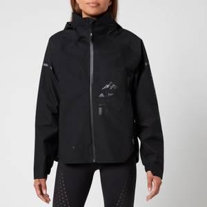 adidas X Parley Mission Women's Myshelter Rain Jacket - Black