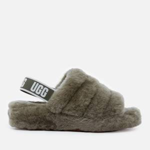 UGG Women's Fluff Yeah Slide Slippers - Burnt Olive