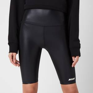 MSGM Active Women's Cycling Shorts - Black