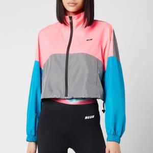 MSGM Active Women's Colourblock Jacket - Fluo Pnk