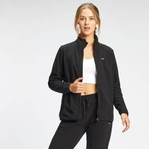MP Women's Essential Fleece Zip Through Jacket - Black