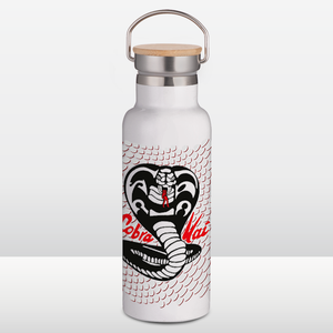 Cobra Kai Portable Insulated Water Bottle - White