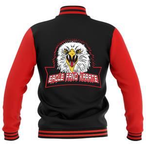 Cobra Kai Unisex Varsity Jacket - Zwart/Rood