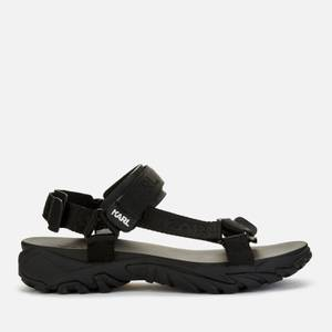 Karl Lagerfeld Men's Volt Aktiv Karl Strap Run Sandals - Black