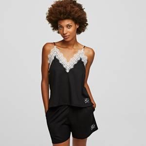KARL LAGERFELD Women's Pyjama Boxershorts - Black