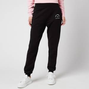 KARL LAGERFELD Women's Address Logo Sweatpants - Black