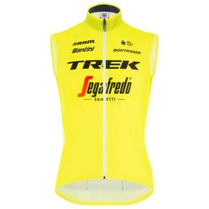 Santini Trek Segafredo Training Fine Light Wind Vest