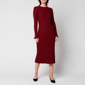 Simon Miller Women's Wells Dress - Burgundy