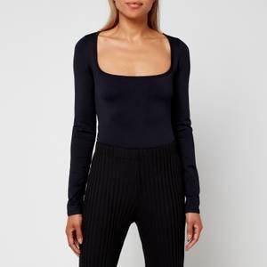 Simon Miller Women's Rohe Long Sleeved Top - Black