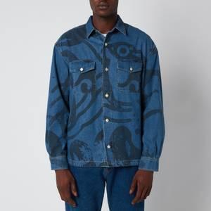 KENZO Men's Denim Overshirt - Navy Blue