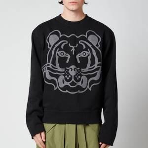 KENZO Men's Monochrome Tiger Sweatshirt - Black