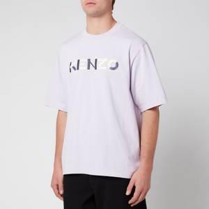 KENZO Men's Multicolour Logo T-Shirt - Wisteria