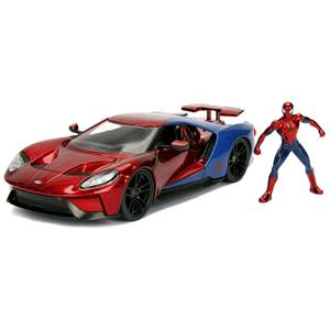 Jada Toys Marvel Spider-Man 2017 Ford Gt 1:24