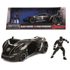 Jada Toys Marvel Black Panther Lykan Hypersport 1:24