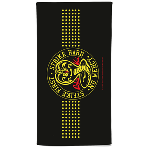 Cobra Kai Bath Towel