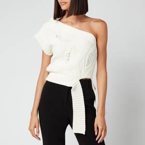 Holzweiler Women's Beagle Knit Vest - White